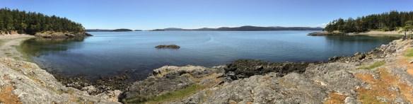 mv Archimedes hike around Jones Island 1