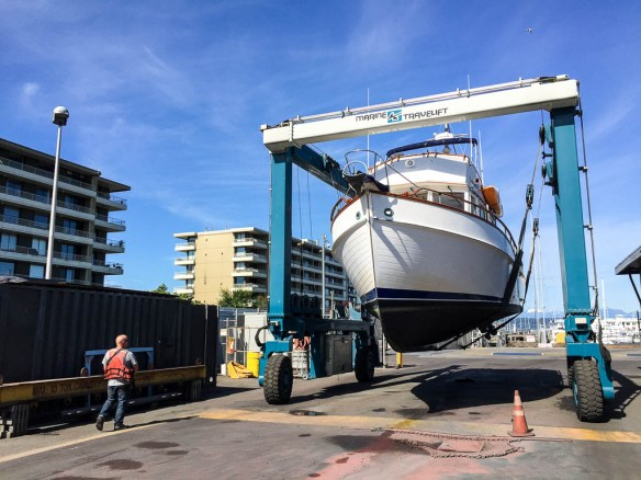 mv Archimedes hauled at Seaview West 1