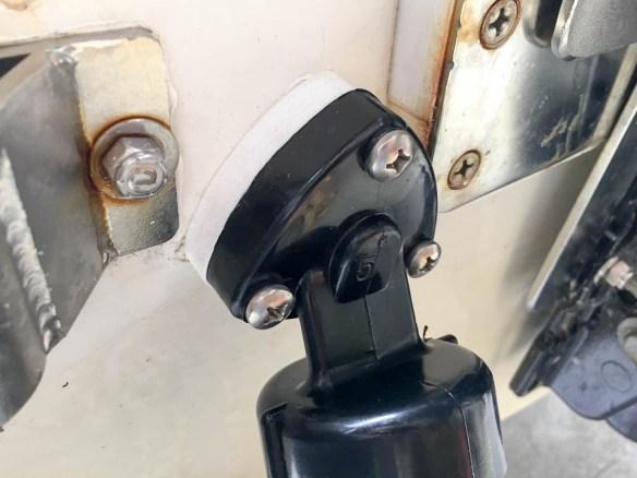mv Archimedes test fit port trim tabs 2
