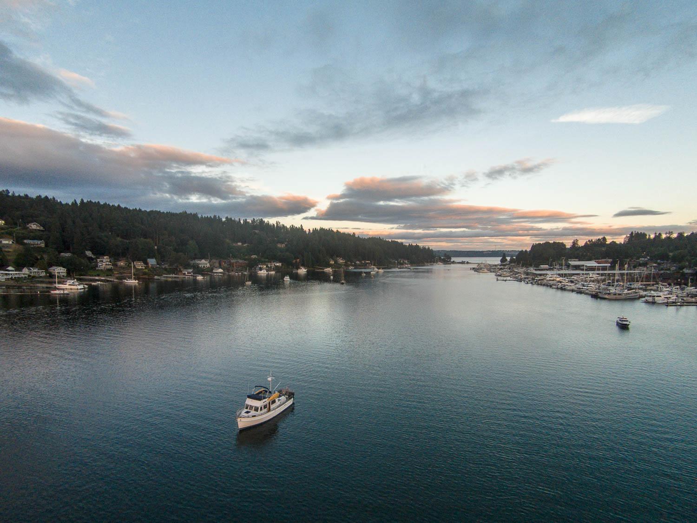 Gig Harbor Mv Archimedes An Old Grand Banks 42