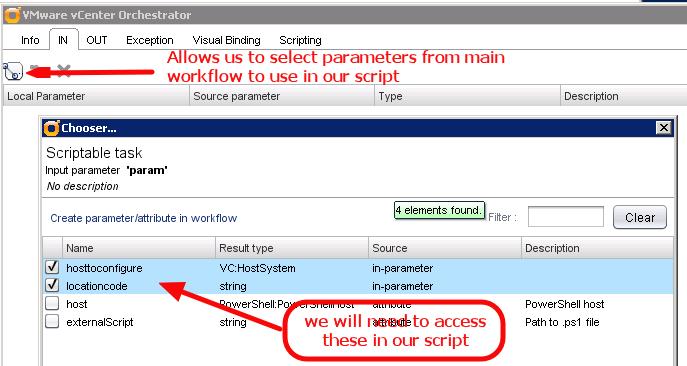 vCO-PS-ScriptableTask-SetupInVars