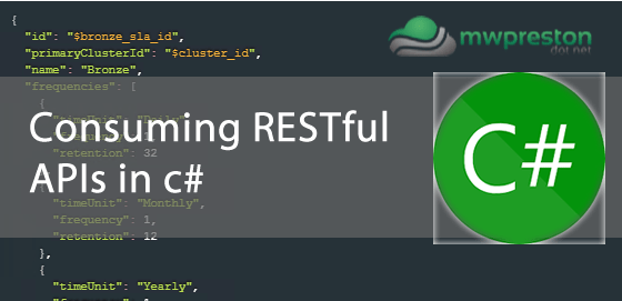 Consuming RESTful APIs with c#
