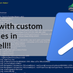 Working with custom TypeNames in PowerShell