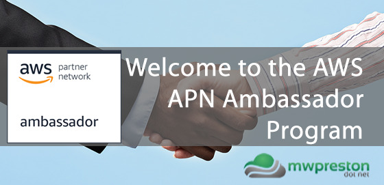 Welcome to the AWS APN Ambassador Program