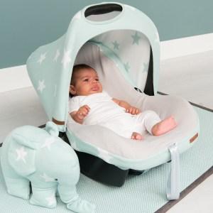 Babyschalenbezug 'Sterne' von Babys Only