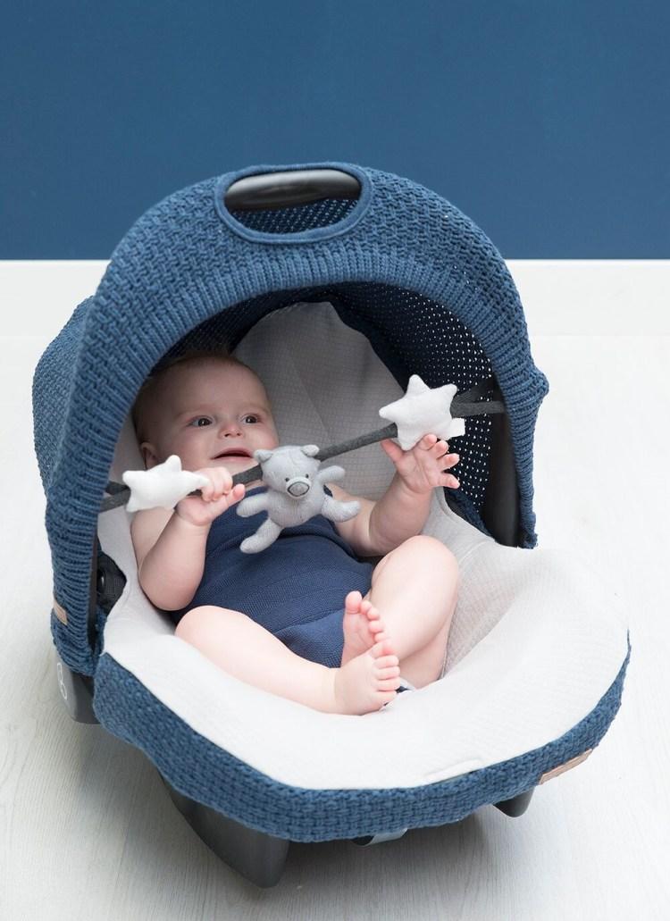 Babyschalenausstattung von Baby´s Only 'Robust' in jeansblau