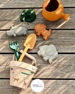 Silikon Sandspielzeug Safari von Liewood