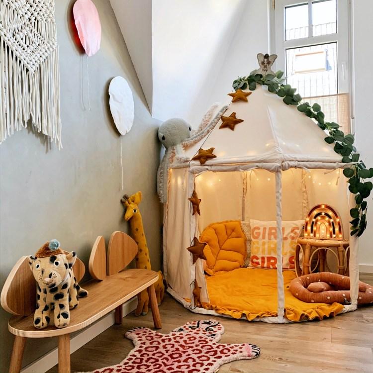 Fantasyroom Blog: Die schönsten Instagram Kinderzimmer - Kuschelecke mit Pavillon
