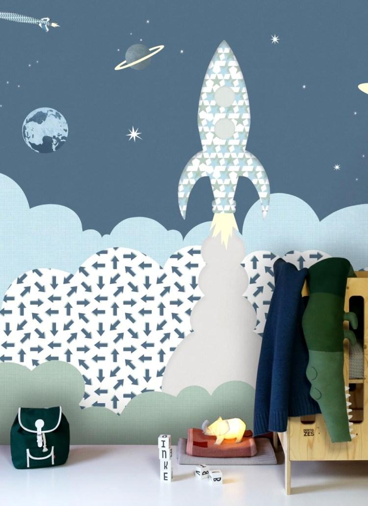 Tapetenwandbild 'Rakete' von Inke aus Holland