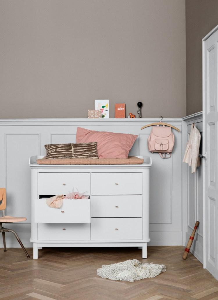Wickelkommode Wood von Oliver Furniture