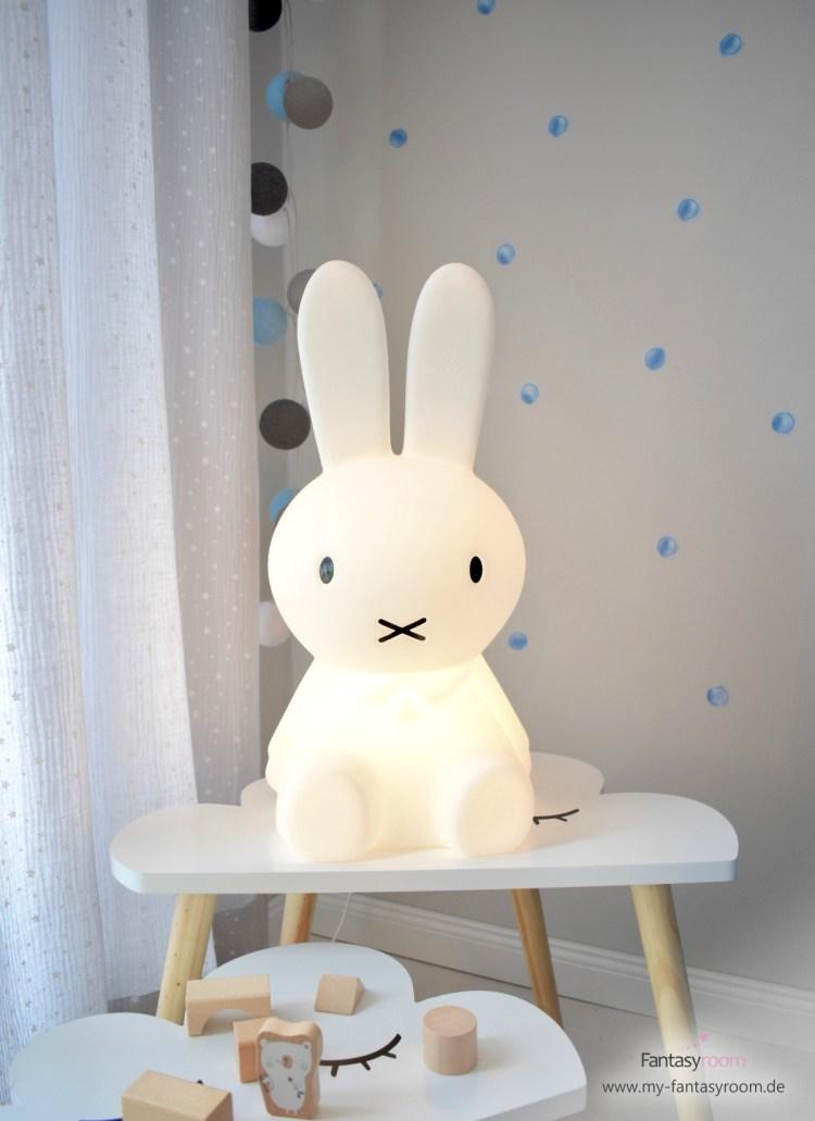 Kultige Kinderlampe 'Miffy' von Mr. Maria