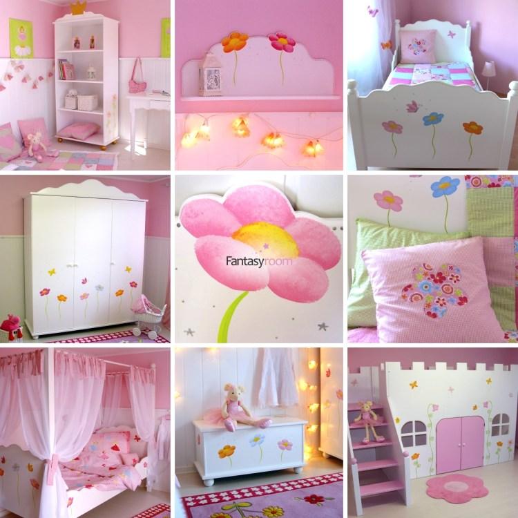 Fantasyroom Möbel mit Blumen