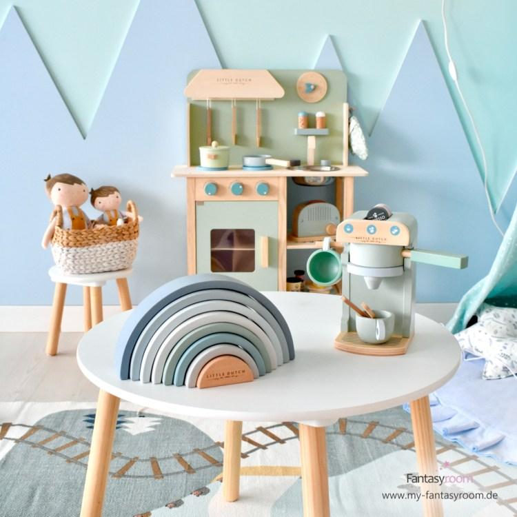 Spielzimmer für Jungen in Mint & Blau