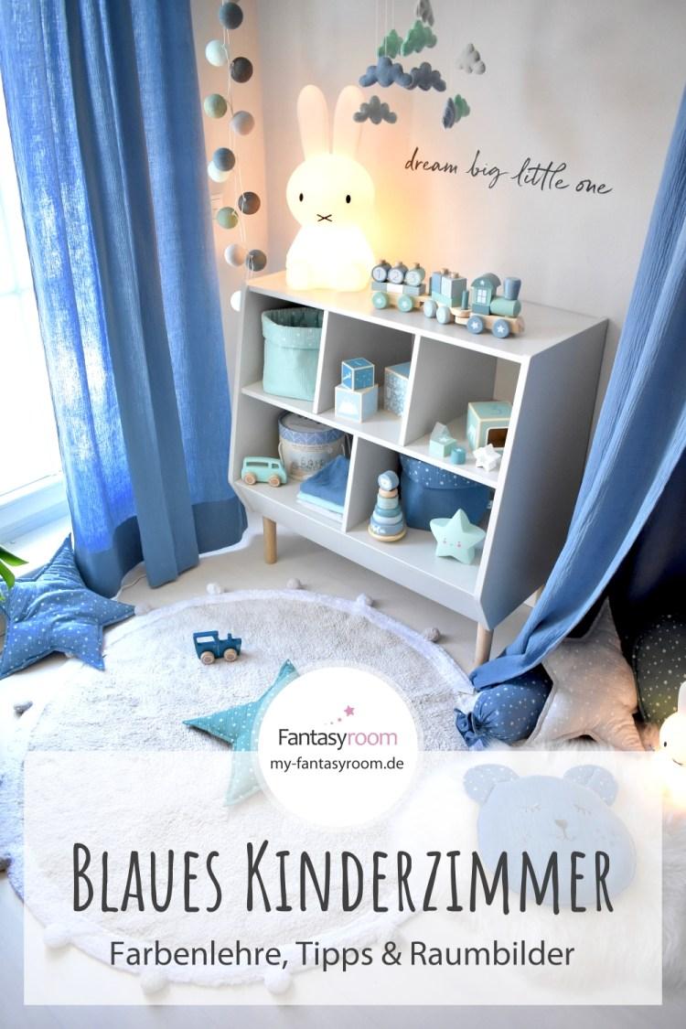 Wie ein blaues Kinderzimmer auf uns wirkt - Tipps zur Gestaltung & Raumbeispiele