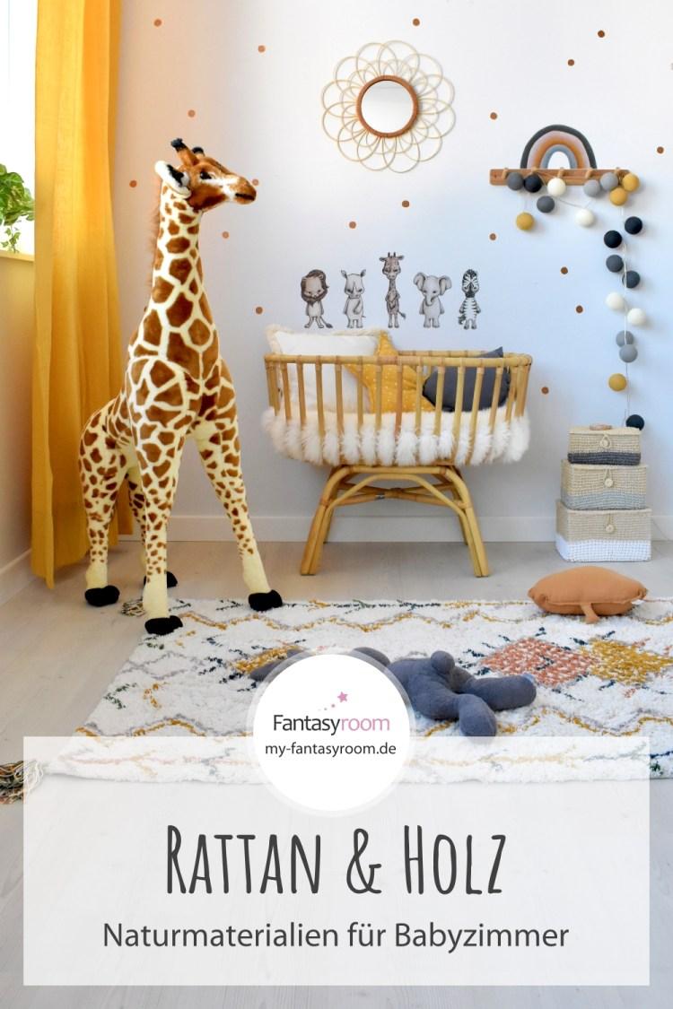 Babyzimmer mit Rattan, Bambus und Holzdeko einrichten? Wir zeigen wie es geht!