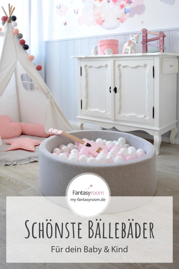 Für Pinterest // Die schönesten Bällebäder für Kinder