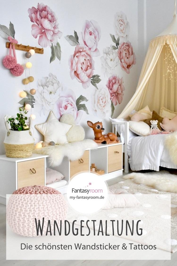 Die schönsten Wandsticker & Wandtattoos für Kinderzimmer