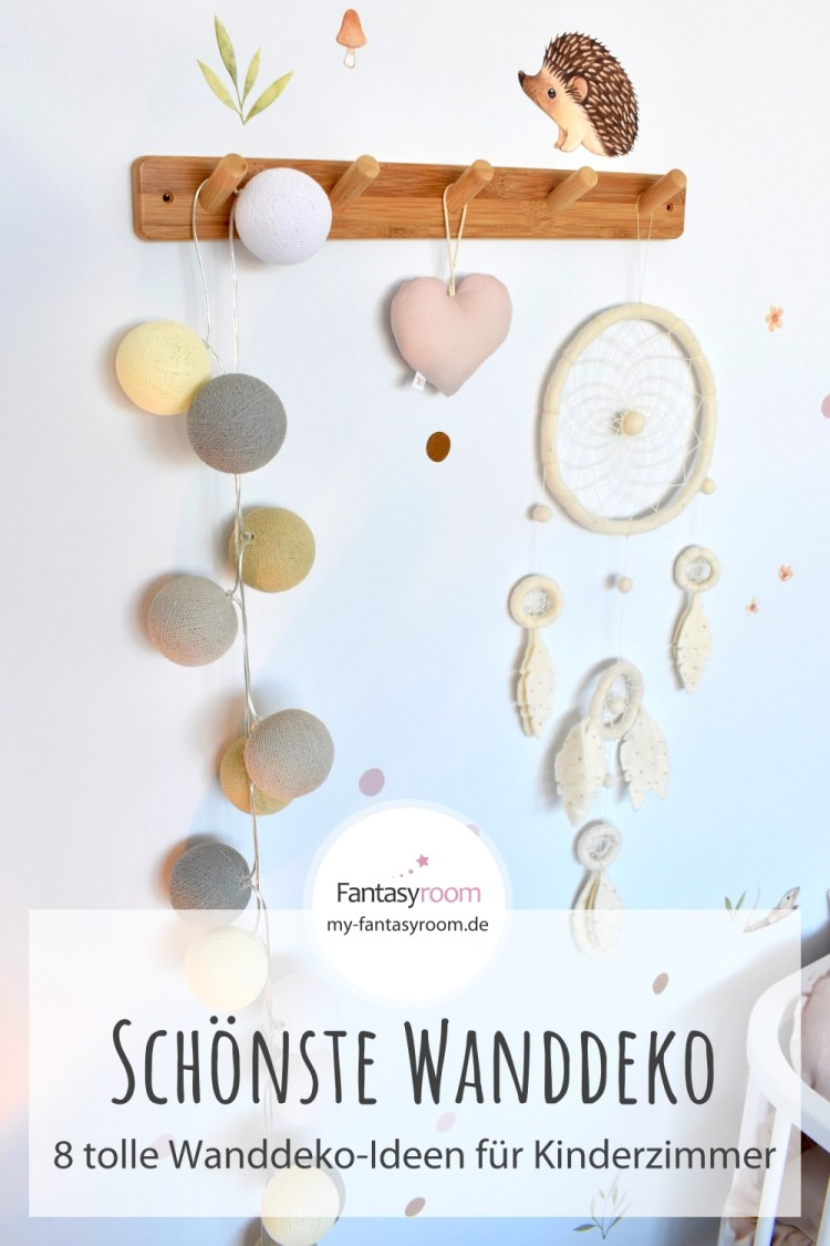 8 Ideen für die Wanddeko im Kinderzimmer