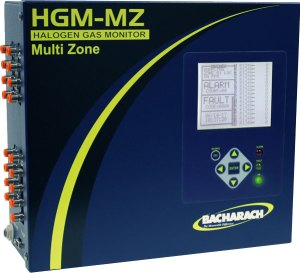 HGM-MZ Multi-Zone Halogen Gas Monitor