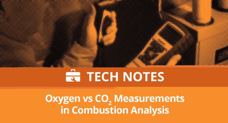Tech Note: Oxygen vs. Carbon Dioxide in Combustion Analysis