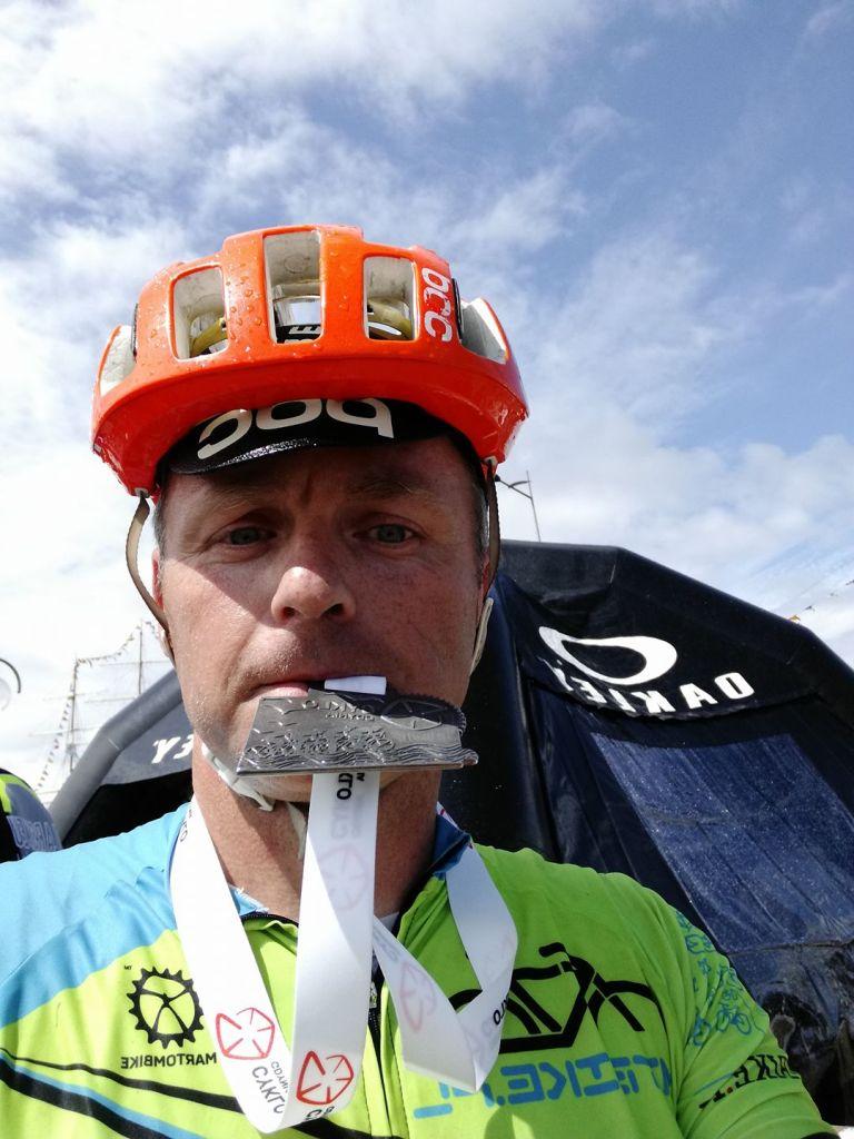 Na mecie Cyklo Gdynia 2017