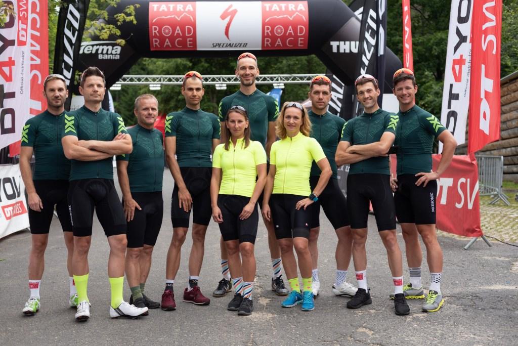 MyBike Road Team w pełnej krasie