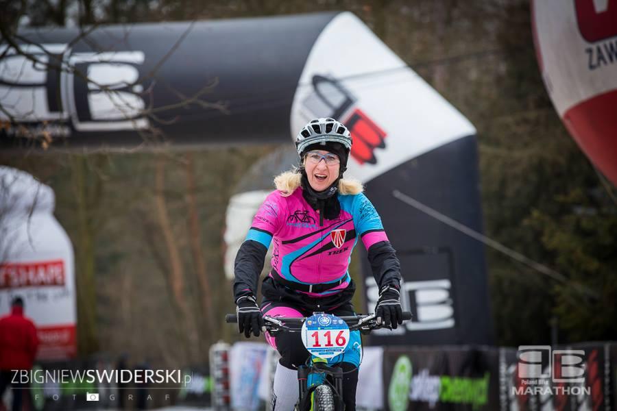 Ewa Bukat Zimowy Poland Bike Marathon Marki