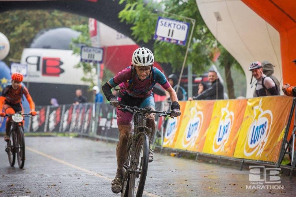 Poland Bike w Konstancinie - Krysia wygrywa o długość roweru