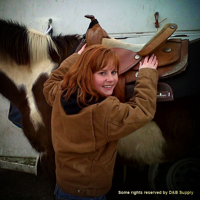 Megan and Her Horse