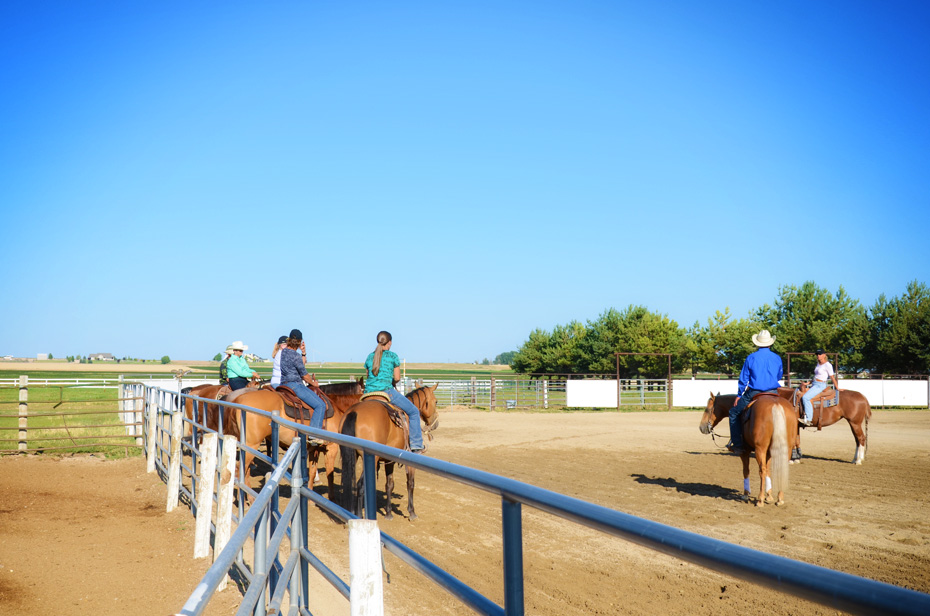 Riders in the Arena