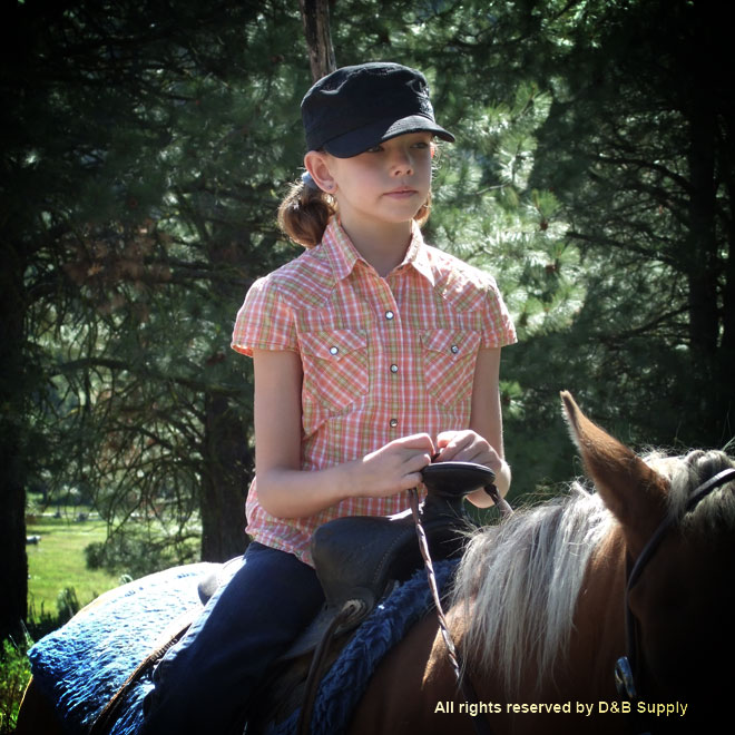 Young Girl on a Horse