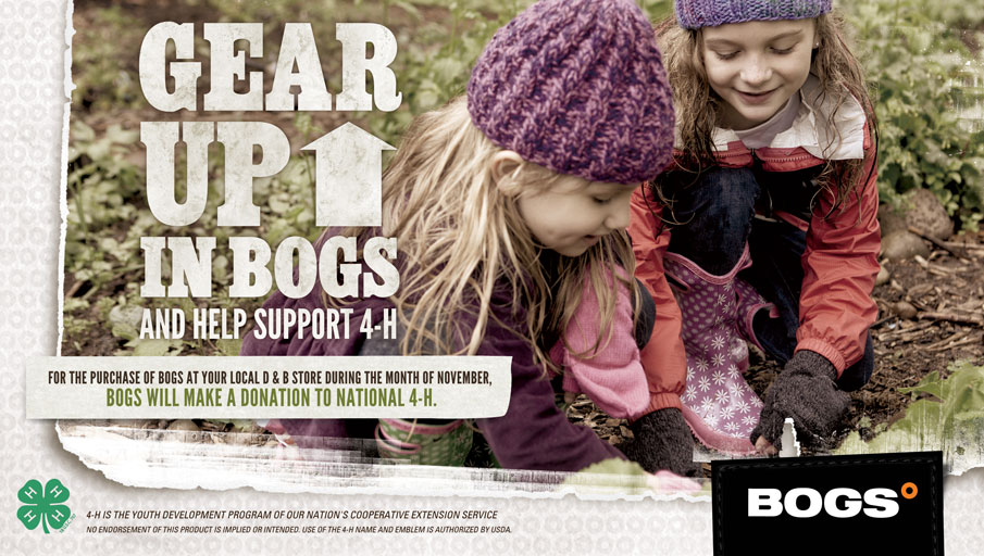 Bogs 4-H Support