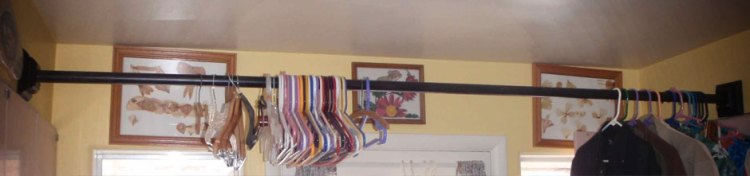 New Laundry Room Clothes Hanger