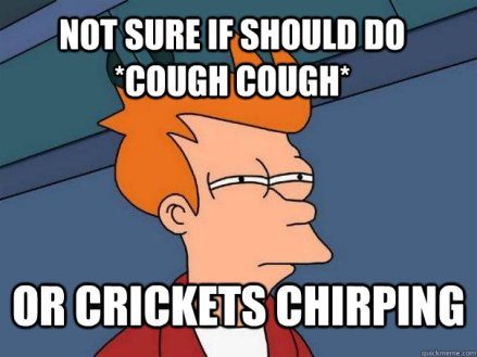 Image result for crickets chirping