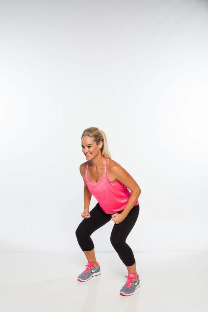 jump free squat A