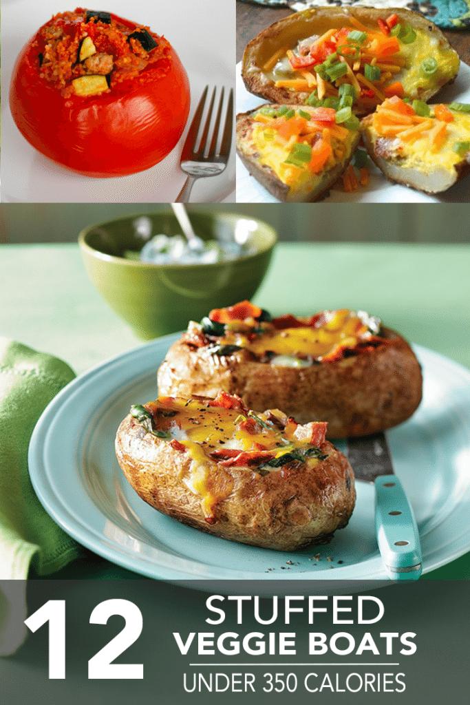 12-Stuffed-Veggie-Boats-Under-350-Calories