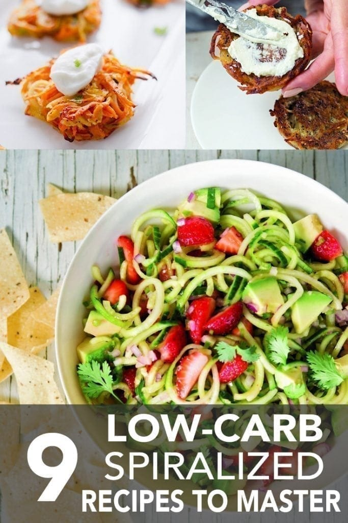 9 Low Carb Spiralized Recipes to Master