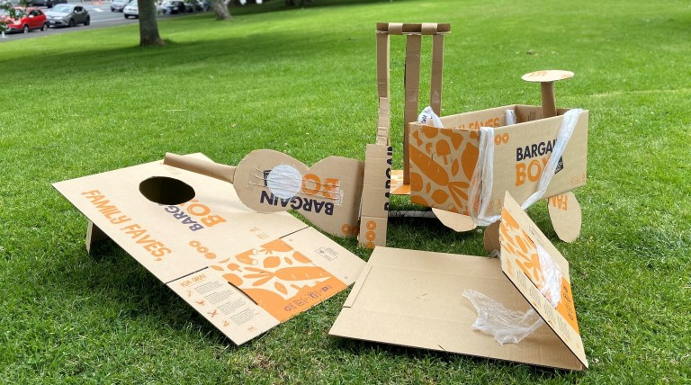Crafty creations made from Bargain Boxes.