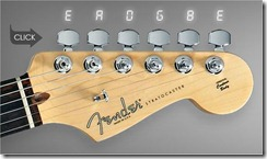 accordeur en ligne guitare-fender