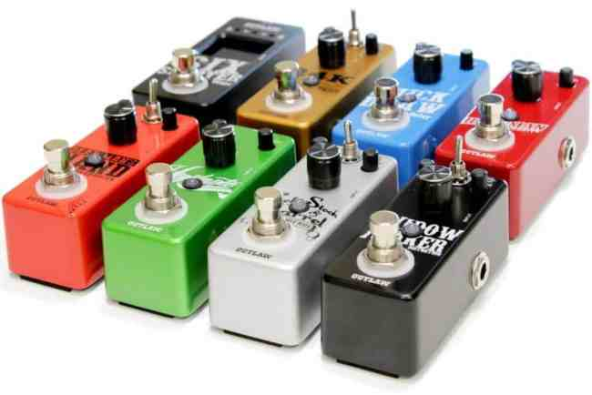 pedales guitare effet delay