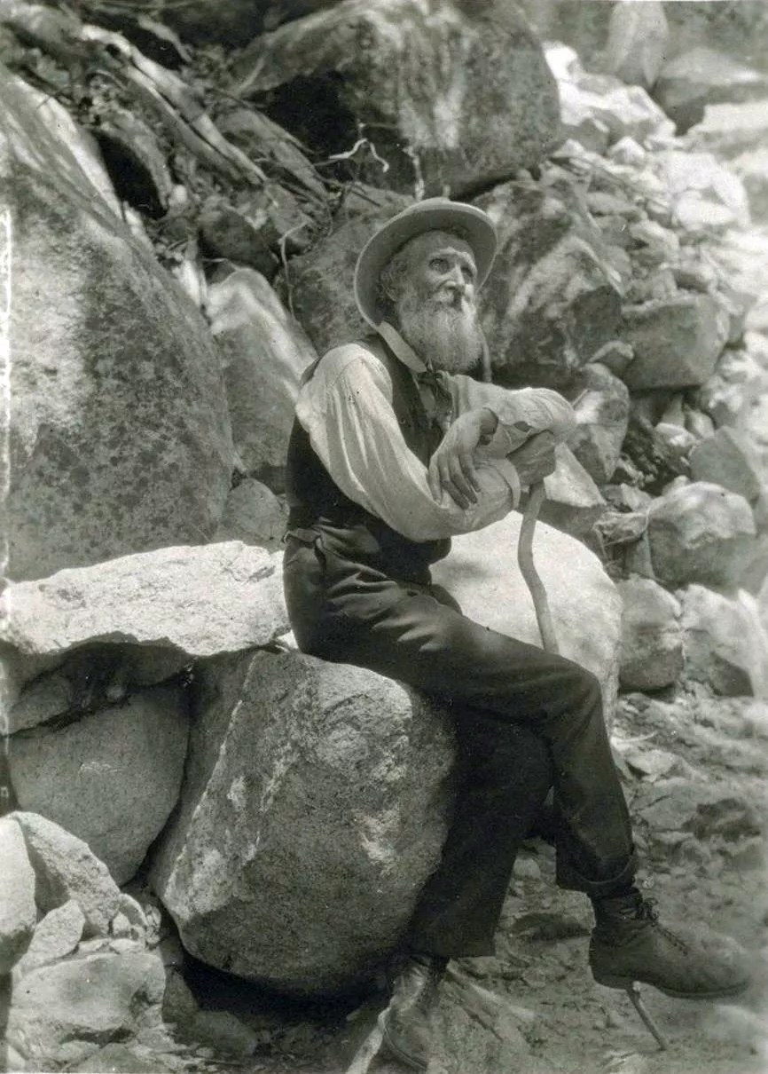 "John Muir, also known as the ""Father of the National Parks"", immigrated to the United States in 1849 from Scotland [Credit: UC Berkeley, 1907]"