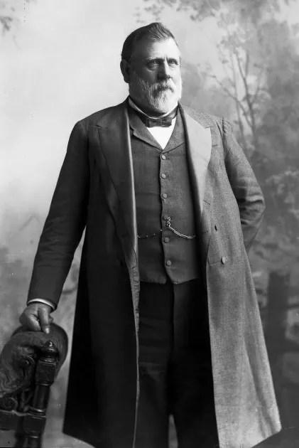 Richard John Seddon, circa 1905 [Credit: Alexander Turnbull Library]