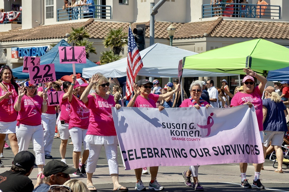 The Susan G. Komen Foundation funds Breast Cancer research as well as offering support to those with breast cancer