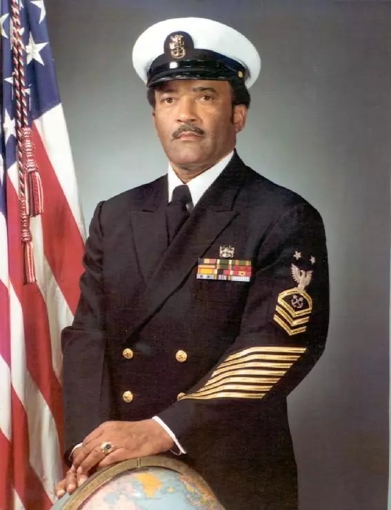 Carl Brashear, the first African-American U.S. Navy Master Diver [Credit: U.S. Navy]