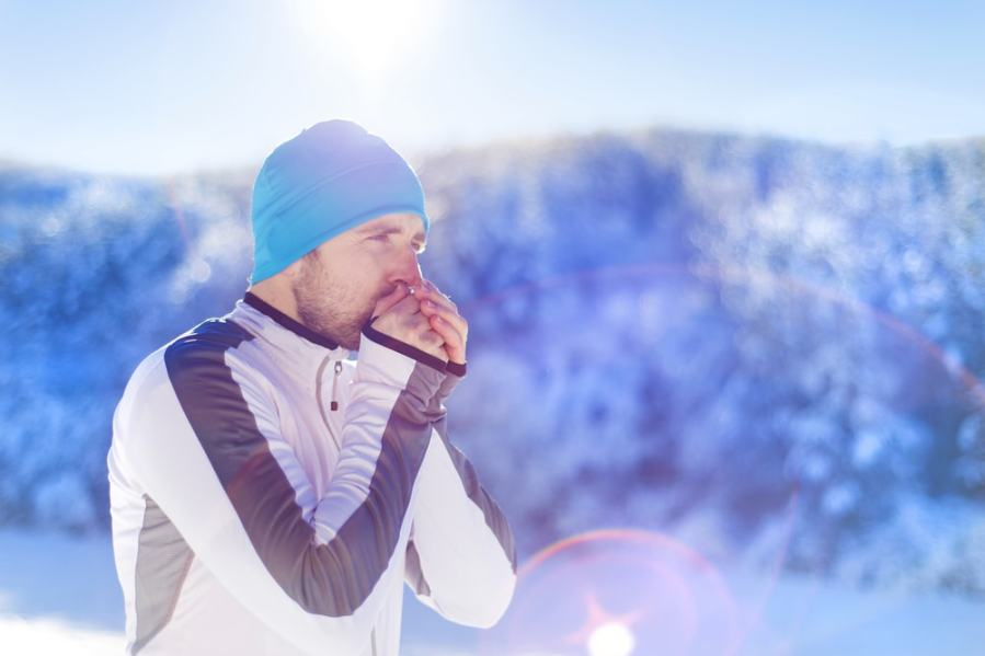 Do you burn even more calories walking in the cold?