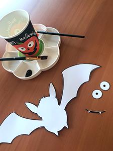 chauve-souris décoration Halloween 2