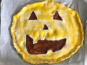 Recette Halloween étape 5
