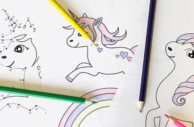Coloriage Licorne - Exemple