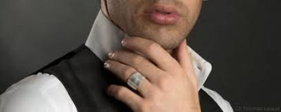 La bague de fiançailles pour homme