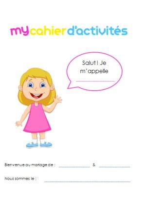 Téléchargez My cahier d'activités SPECIAL MARIAGE pour filles